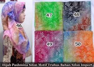 jilbab pashmina sifon motif