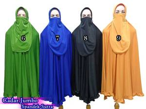 grosir jilbab cadar purdah cantik
